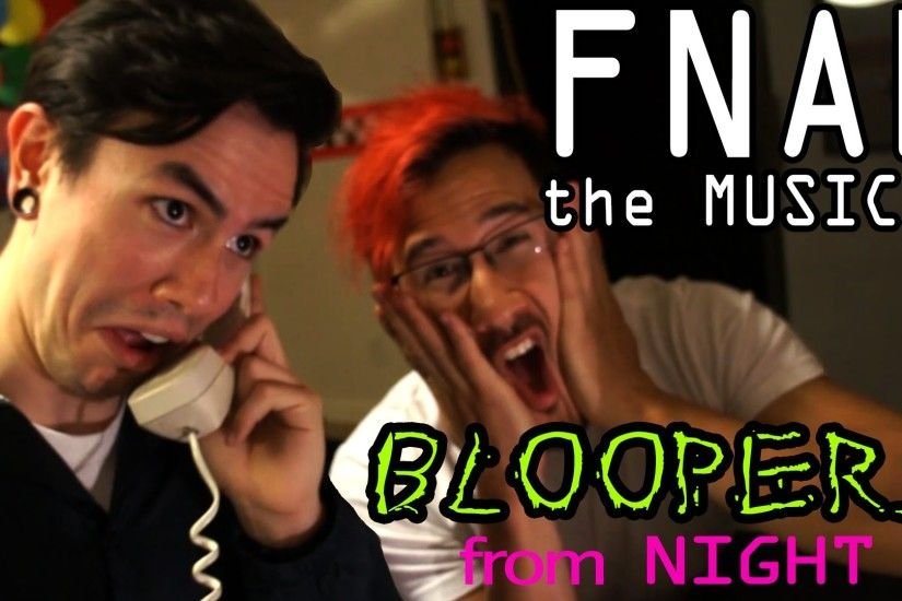 FNAF The Musical Night 5 **BLOOPERS!** (Markiplier, NateWantsToBattle,  MatPat and Random Encounters) - YouTube