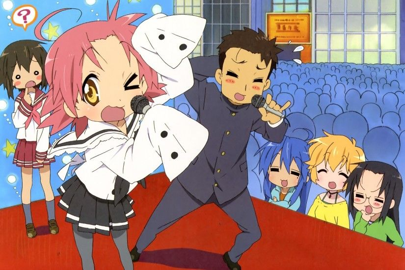 Lucky Star Can Kogami Akira and Shiraishi Minoru be a couple?