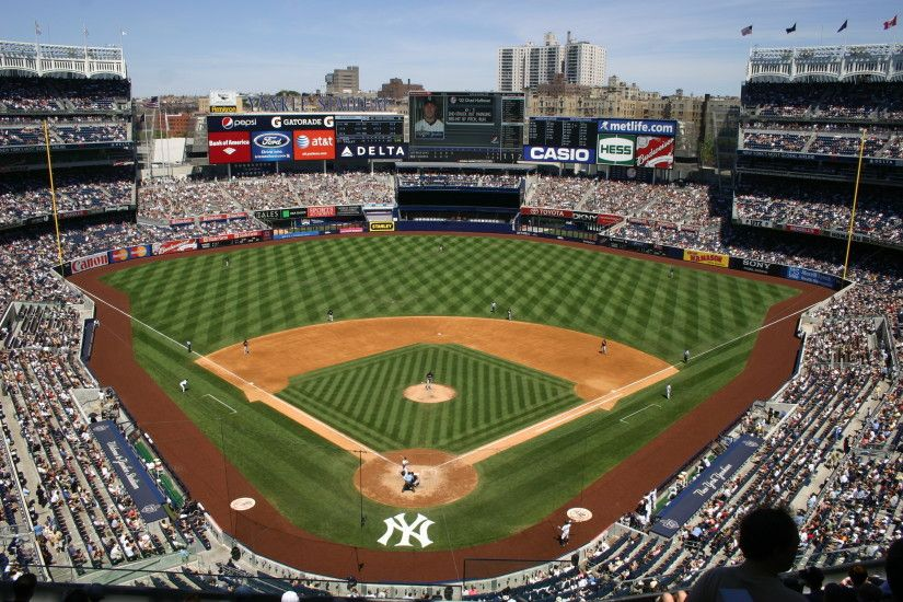 NEW YORK YANKEES baseball mlb d wallpaper | 2154x1616 | 158272 |  WallpaperUP New Yankee Stadium, the Yankees' ...