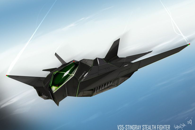 HD Quality Wallpaper | Collection: Military, 2480x1754 Stealth Aircraft