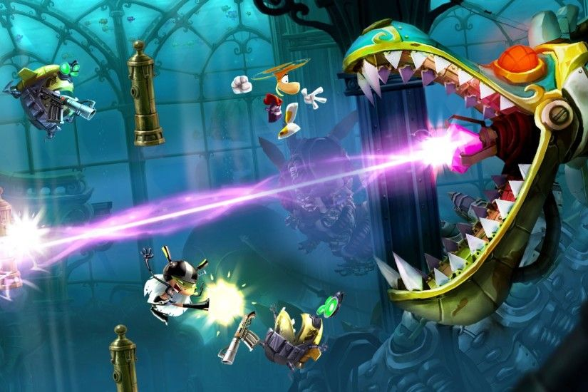 rayman legends - Full HD Background