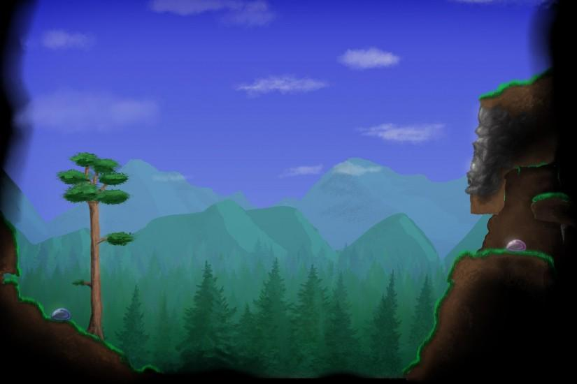 new terraria background 1920x1200 image