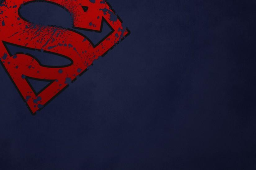 Dc comics superman superman logo wallpaper | 1920x1200 | 20676 .