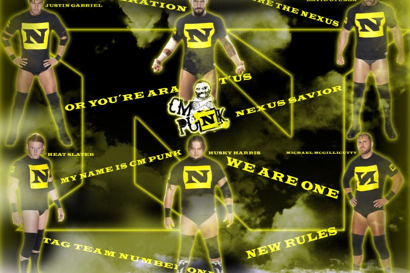 ... DecadeofSmackdownV3 Cm Punk new leader The nexus by DecadeofSmackdownV3