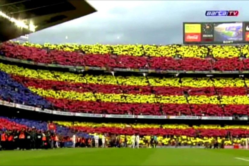 Fc Barcelona - Real Madrid CF | 21-04-2012 | Camp Nou - Opening - YouTube