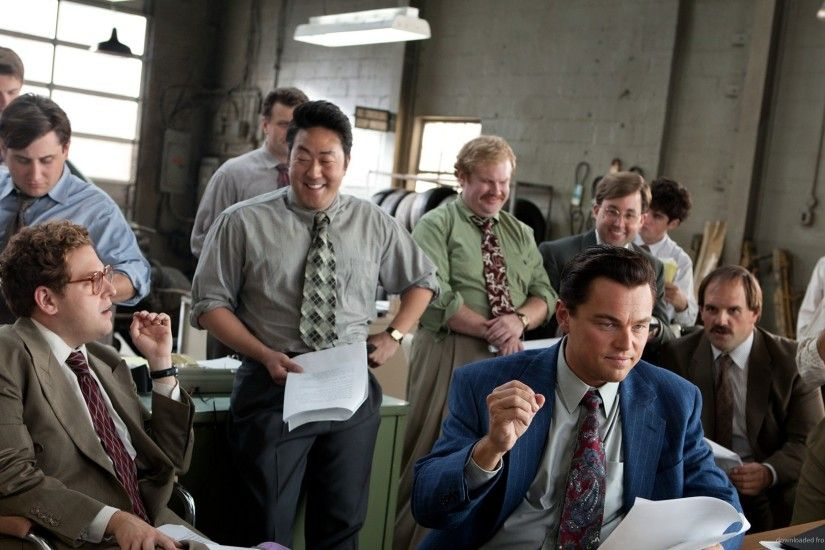 1920x1200 The Wolf of Wall Street Gang wallpaper