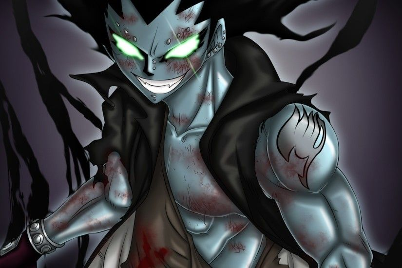 Anime - Fairy Tail Gajeel Redfox Shadow Steel Wallpaper
