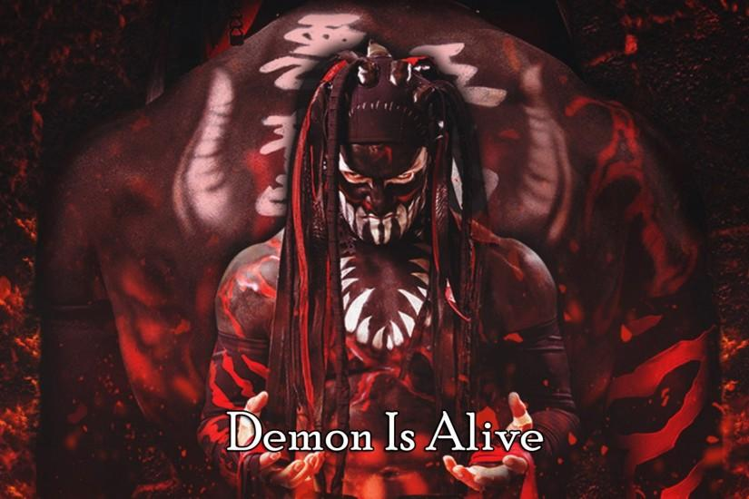 Finn Balor Wwe Demon Debut WQXGA Wallpaper