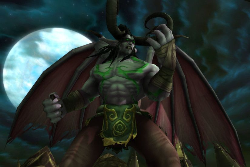 ... illidan stormrage Close Up Screen shot 2 by XxSMOKERxX35
