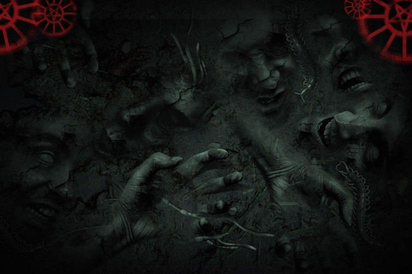Wallpapers For > Zombie Graveyard Wallpaper