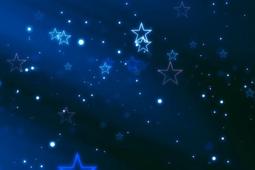 Shooting Stars on Blue Night Sky Looping Background Motion Background -  VideoBlocks