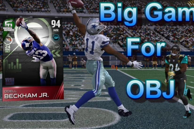 Madden 15 Ultimate Team Gameplay - Odell Beckham Jr. Goes Off