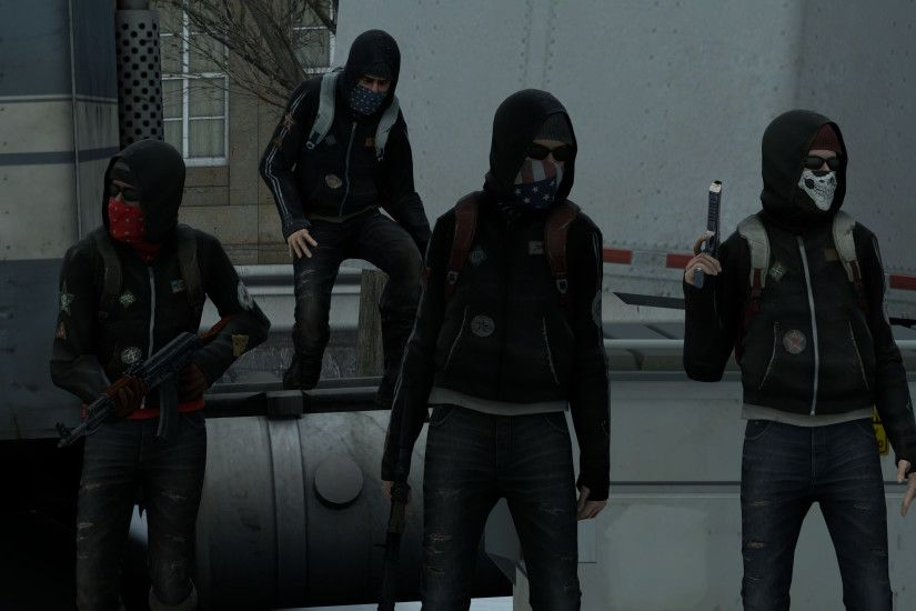 ... Counter-Strike: Global Offensive - Anarchists by Rhedd999