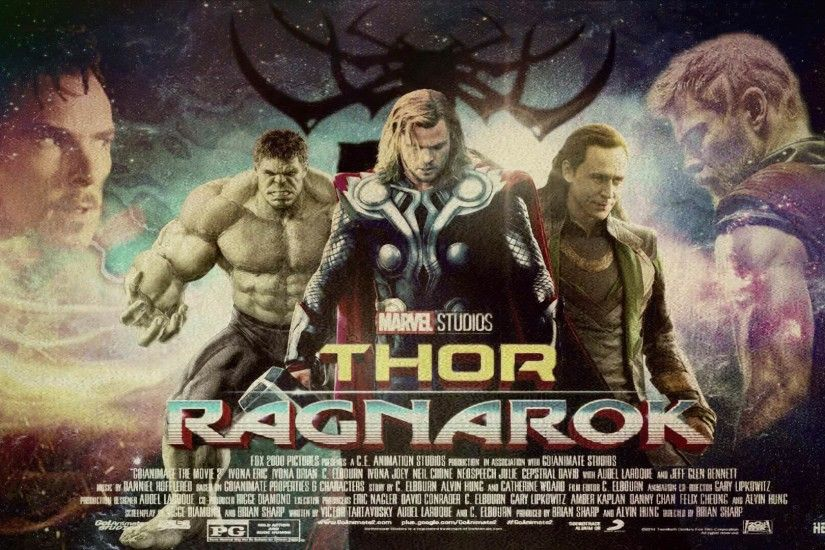 THOR RAGNAROK WALLPAPER HEEL ARTS