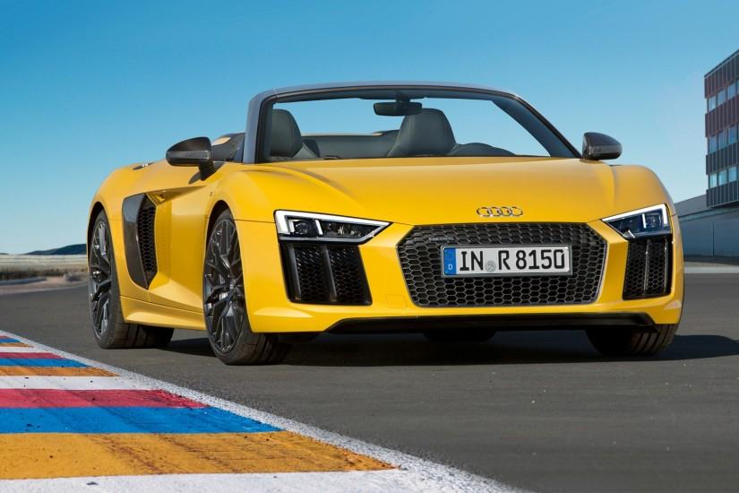 3688 Views 2026 Download Audi R8 Spyder 2017 HD Car Wallpapers