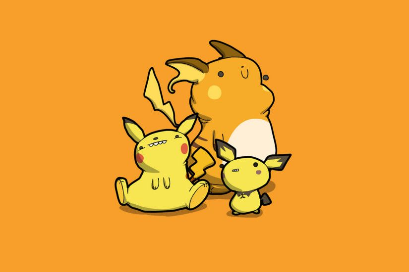 Video Game - Pokémon Pikachu Pichu (Pokémon) Raichu (Pokémon) Wallpaper