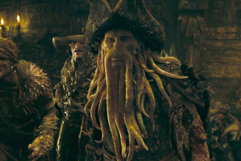 Movie - Pirates Of The Caribbean: At World's End Davy Jones Wallpaper