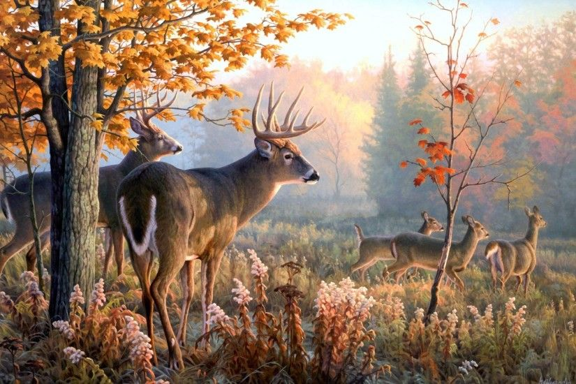 Deer Art Wallpaper, wallpaper, Deer Art Wallpaper hd wallpaper .