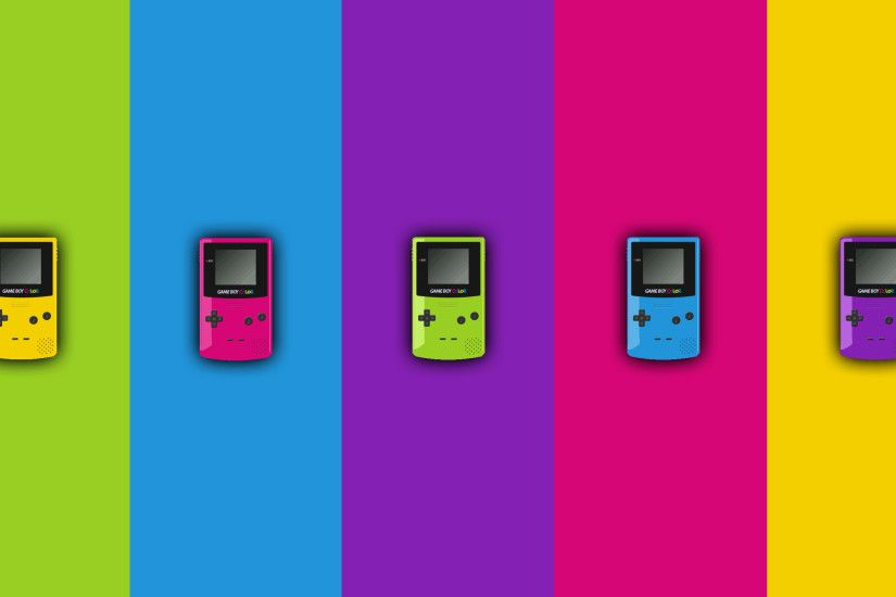 it8Bit — Wallpaper Wednesday: Gameboy Colors Download the.