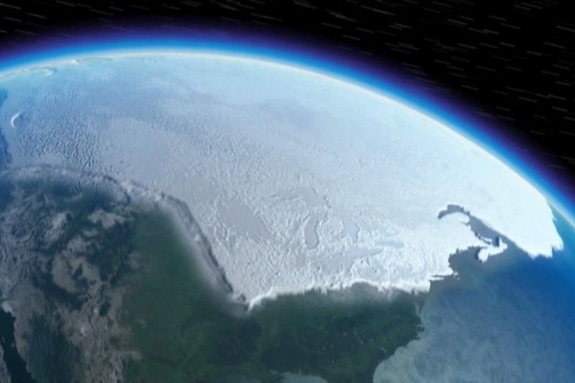 North Pole From Space