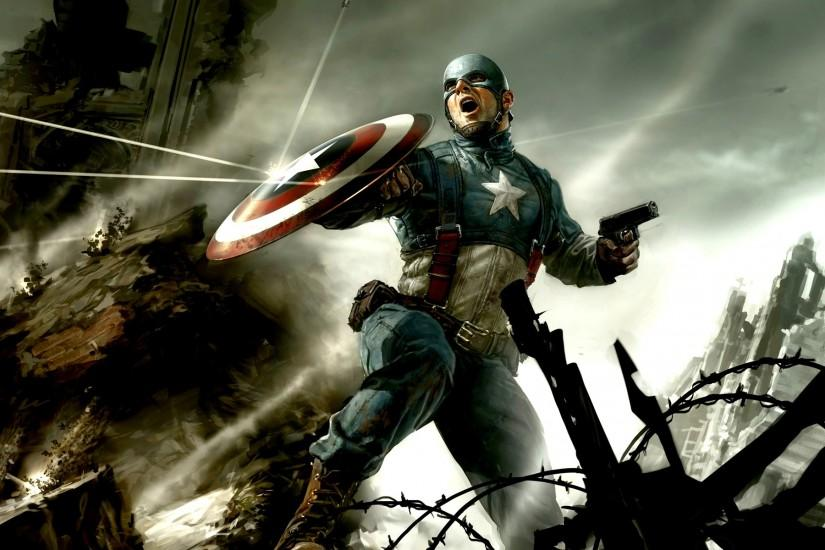 captain america wallpaper 1920x1200 lockscreen