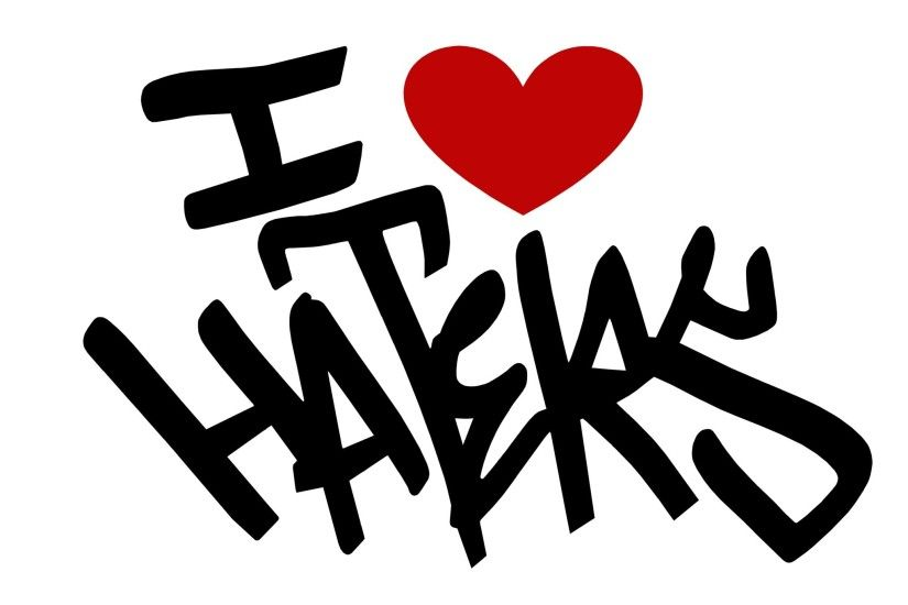 ... Download I Love Haters Wallpaper Gallery ...