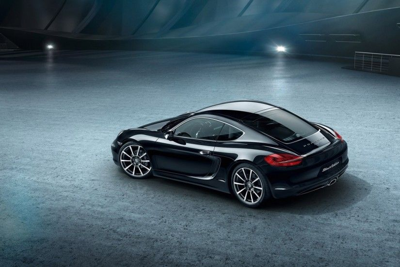 Porsche Cayman S Black Edition picture # 80500 | Porsche photo ... black porsche  wallpaper ...