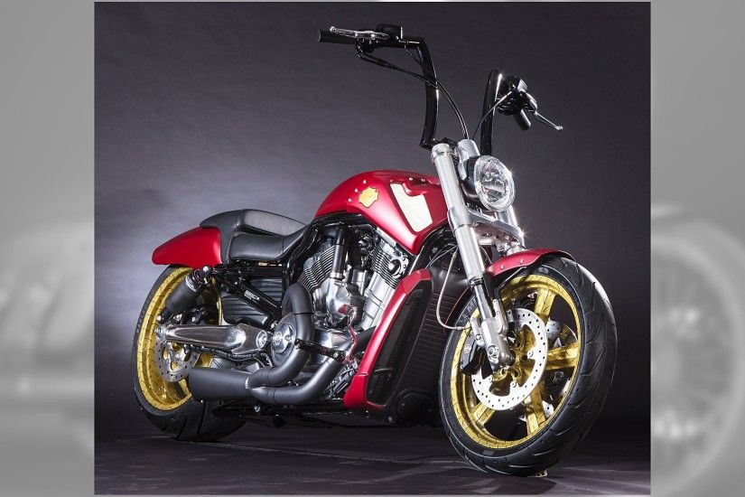These Custom Built, Marvel Superhero Themed Harley. Harley-Davidson Iron Man
