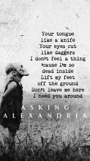 Asking Alexandria Iphone Widescreen Wallpaper.