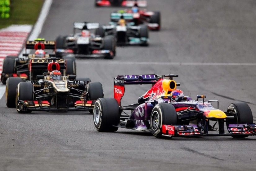 ... HD wallpaper pictures 2013 Korean F1 GP F1 Fansite com Sebastian Vettel  GER Red Bull Racing ...