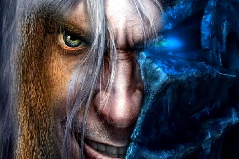 2048x2048 Wallpaper warcraft, lich king, arthas, faces, characters