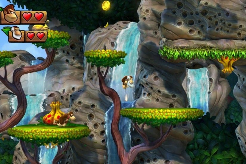 Video Game - Donkey Kong Country: Tropical Freeze Wallpaper