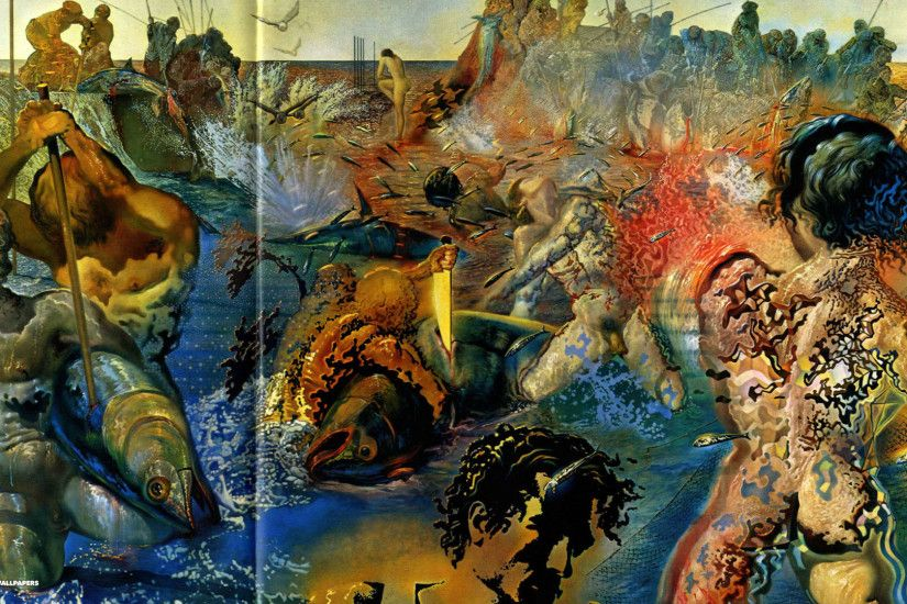 Salvador Dali Paintings HD Wallpaper and His Famous Quotes .