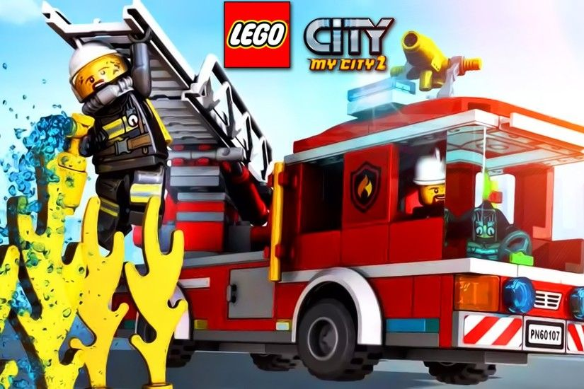 ... cartoon about lego lego police fire truck police water lego; lego movie  poster wallpaper ...