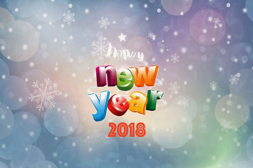 happy new year wallpaper 2018