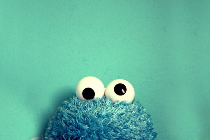 Free HD Cookie Monster Wallpaper.