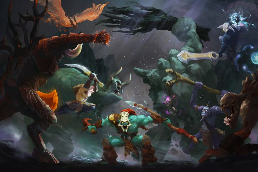 DOTA 2 Battle Wallpaper