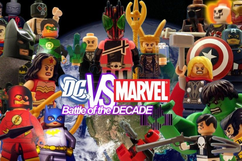 LEGO DC VS MARVEL: Battle of the Decade Wallpaper by Digger318 .
