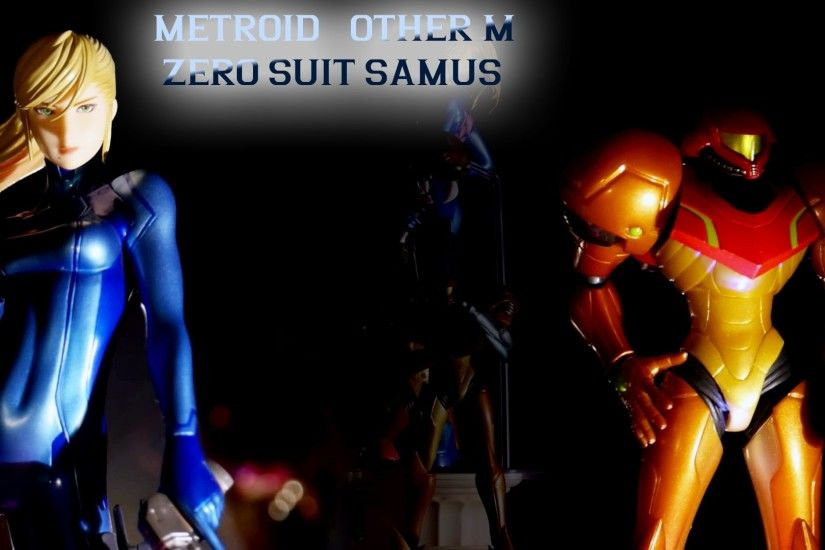 Metroid Other M - Zero Suit Samus figure (Max Factory/GoodSmile)