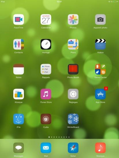 08 iPad HD Dynamic Wallpaper for iOS 7 - 1.1 - Themes