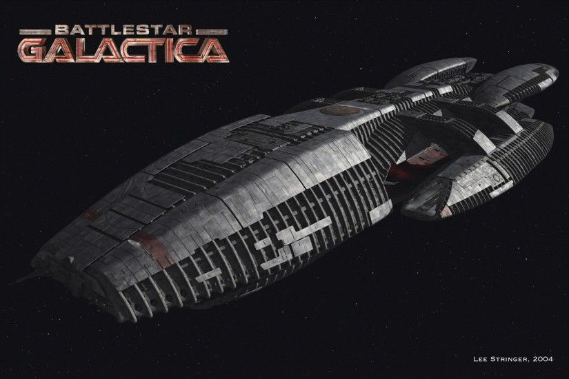 Battlestar Galactica, Spaceship