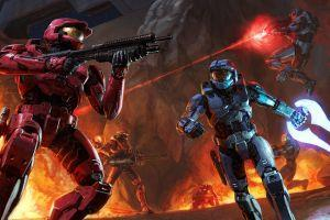 red vs blue wallpaper 1920x1080 for iPad Pro