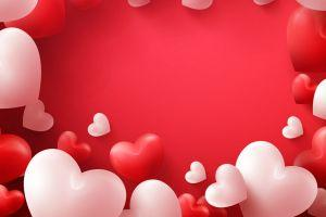 large valentines day background 3840x2400 Full HD