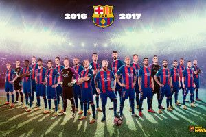 Fc Barcelona Wallpaper 2017 1920x1200 for iPad Pro